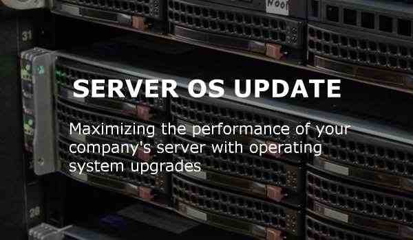server os update gige it solutions