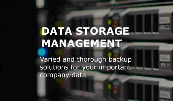data storage management gige it solutions