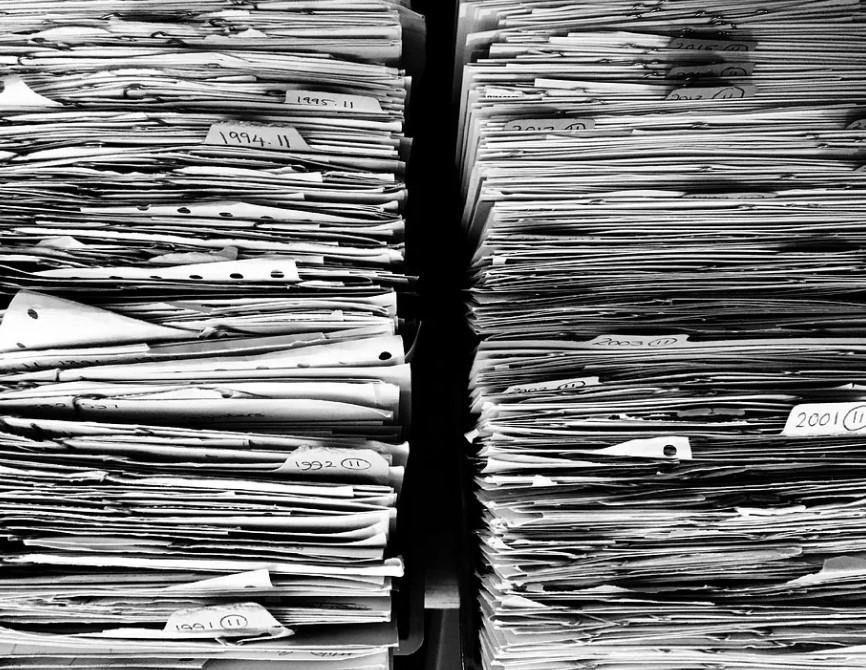 customer data files