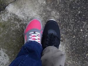 Joggingschuhe für Papa und Mama...