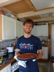 Kirschenkuchen... Papa ist glücklich! :-)