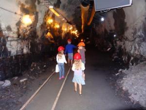 Im Wegmuseum bei Lillehammer, wie man früher Tunnels gesprengt hat... sehr interessant!