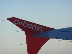 Mit Airberlin flogen wir...