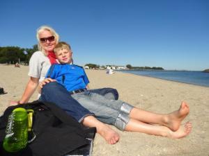 Wieder Ruhe und auftanken am Strand...