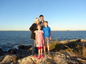 The Giger Family around Boston...