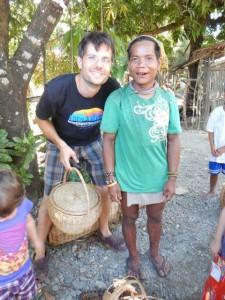 Ein Mann aus dem Katatubo Stamm. Sie werden sehr verachtet hier... dieses Projekt in dem wir uns befinden, nimmt sich ihrer Volksgruppe besonders an.