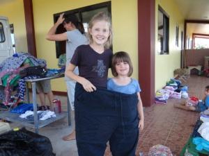 eine etwas grössere Hose...
