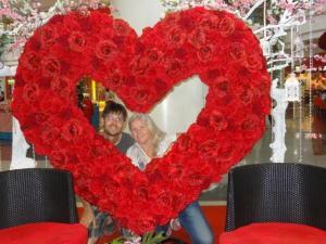 Valentinstag noch in Manila...