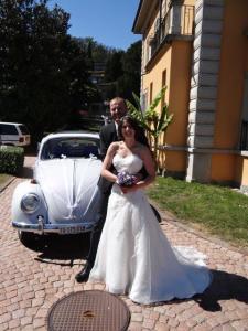 Das liebe Brautpaar... das Wetter war herrlich...