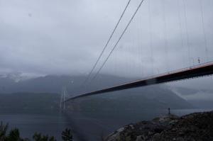 Die neue Hardanger Brücke