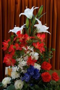 Blumen zum Nationaltag...