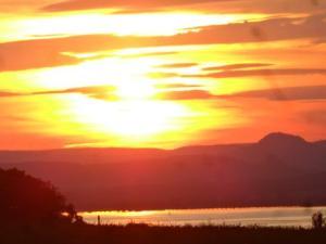 Auch in der Schweiz gibt es schön Sonnenuntergänge...