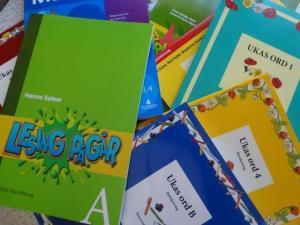 Die Norwegischen Schulbücher sind da...