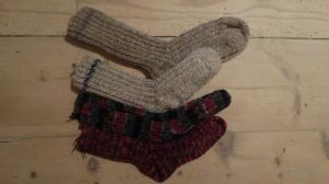 Warme Wollsocken! :-9