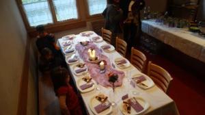 Meine Schwägerin Mayra, Justin mein Bruder und meinen Mama schenkten mir ein wunderbares Fest!