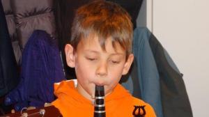 Kilian spielt für Tante...