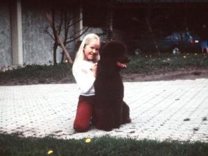 Mit Hund Argus...