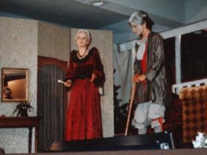 In der 8. Klasse, Theater, der Geizhals von Moliere