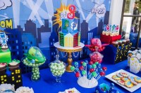 PJ Masks Dessert Table - Giggle Factory LA