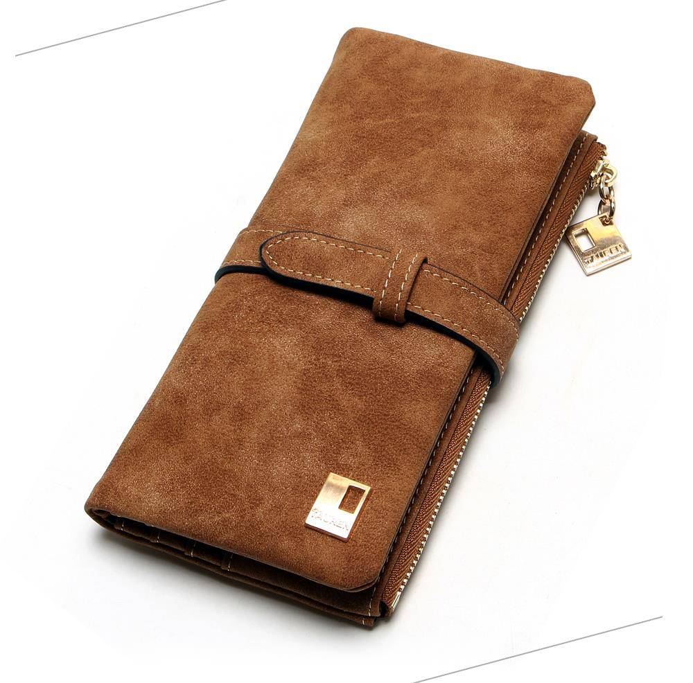 Women's Nubuck Leather Wallet