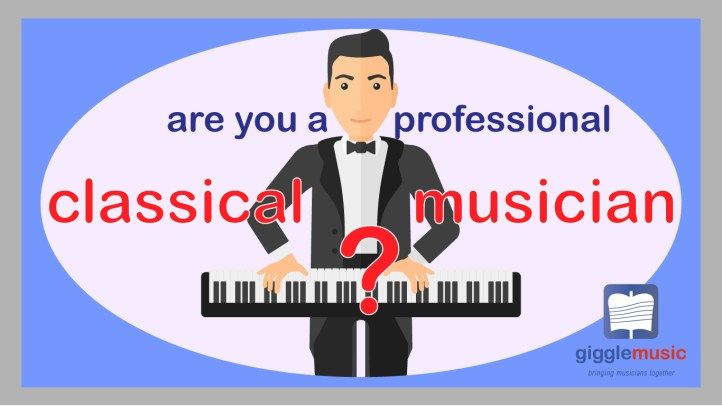 classical musicians app - professional musician, networking app