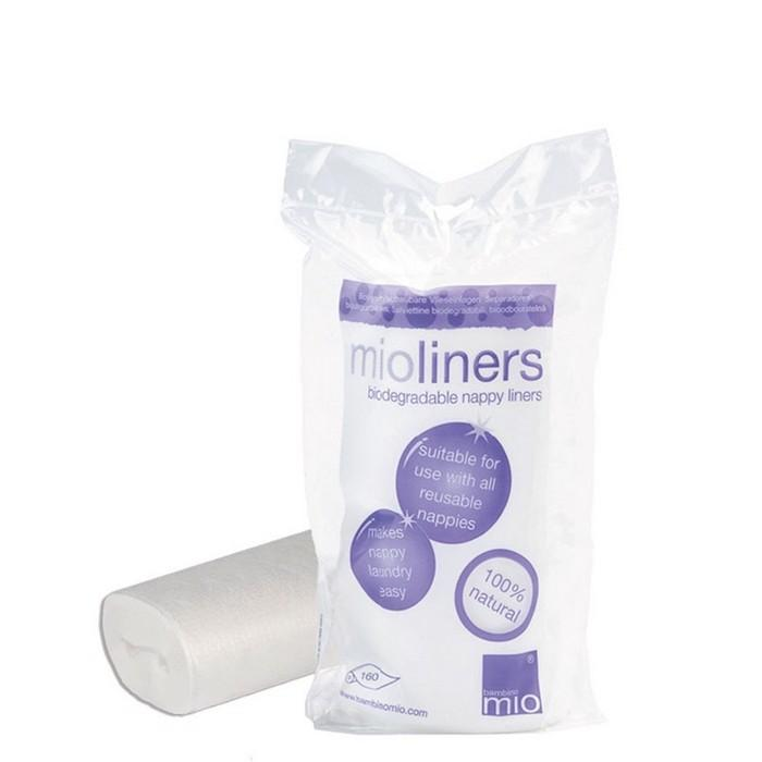 mioliners 8 Pack Biodegradable Nappy Liners Bambino Mio
