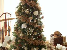 Ruffled Burlap Garland Tutorial – Michaels Dream Tree ...