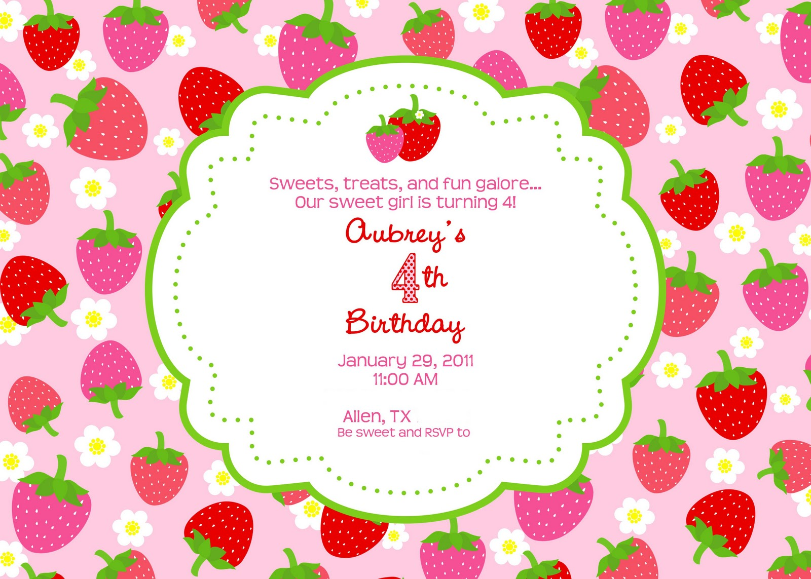 strawberry shortcake party giggles galore