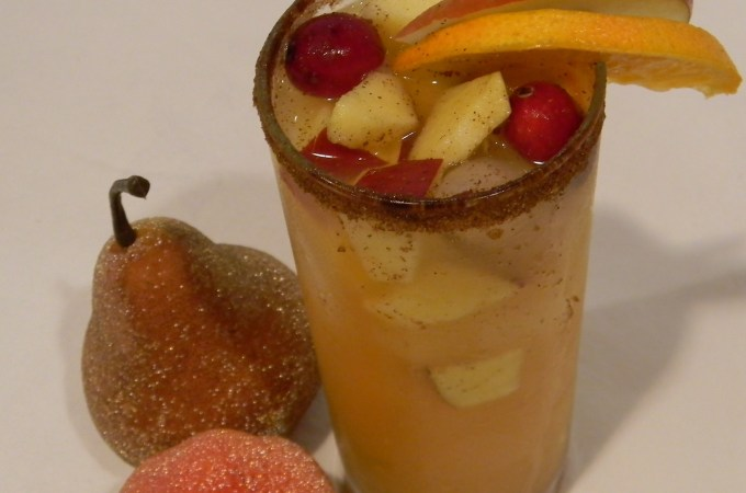 Thanksgiving Cocktail Hour:  Autumn Spice Slammer
