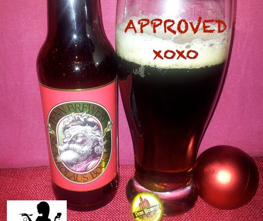 Malt Monday Beer Review of the Week:  Penn Brewery's St. Nikolaus Bock