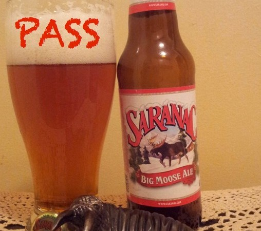 Malt Monday Beer Review of the Week: Saranac's Big Moose Ale