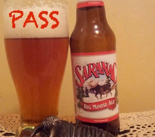 Malt Monday Beer Review of the Week: Saranac's Big Moose Ale