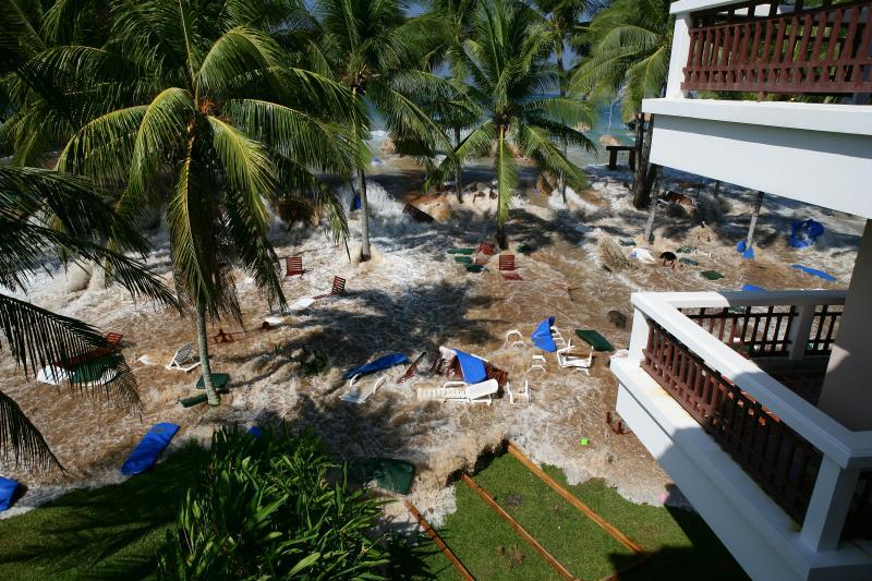 Phuket Thailand Tsunami Image (internet source)