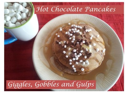 National Pancake Day: Hot Chocolate Pancakes
