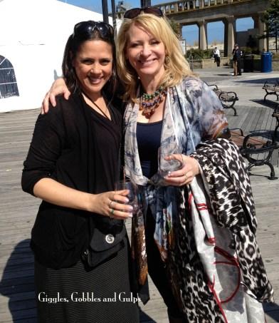 Leslie Sbrocco and me