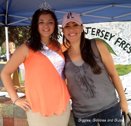 Me and the NJ Peach Queen