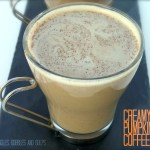 Book Review and Recipe Test:  The Truly Healthy Family Cookbook's Creamy Pumpkin Coffee
