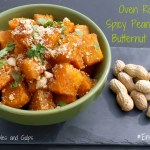 Oven Roasted Spicy Peanut Butter Butternut Squash