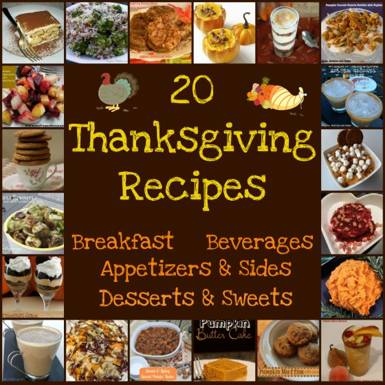 20 Thanksgiving Day Food Musts