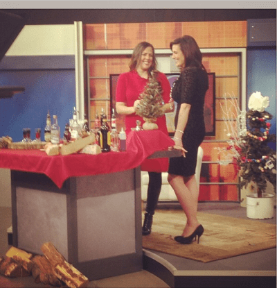 Easy Holiday Mixed Drink Recipes & My Television Segment on WMCN44