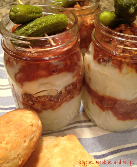 Mason Jar Barbecue Meal