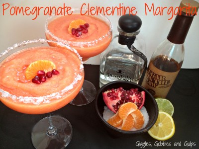 It's National Margarita Day:  Pomegranate Clementine Margarita