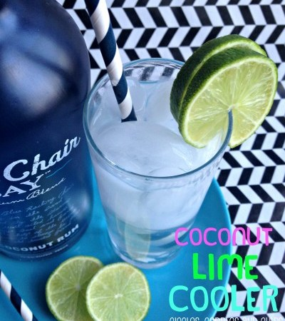 Coconut Lime Cooler with Blue Chair Bay Premium Rum