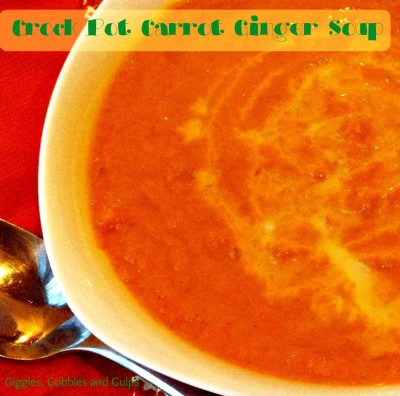 Happy Spring Crock Pot Carrot Soup