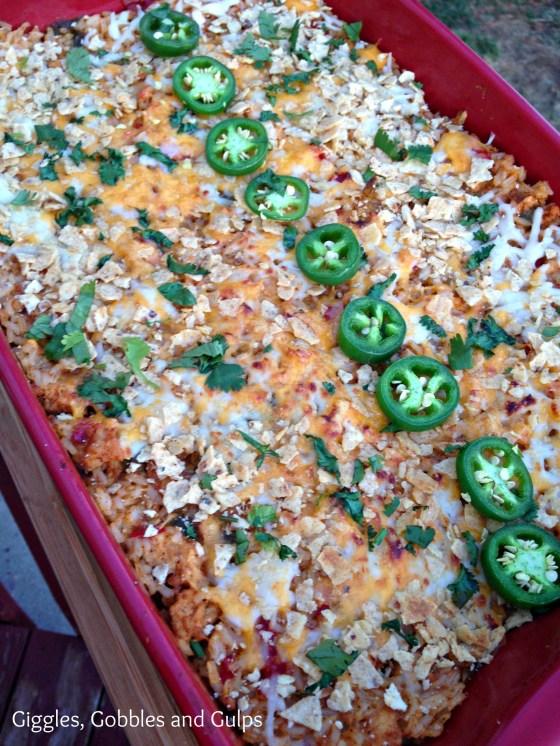 santa fe rice bake