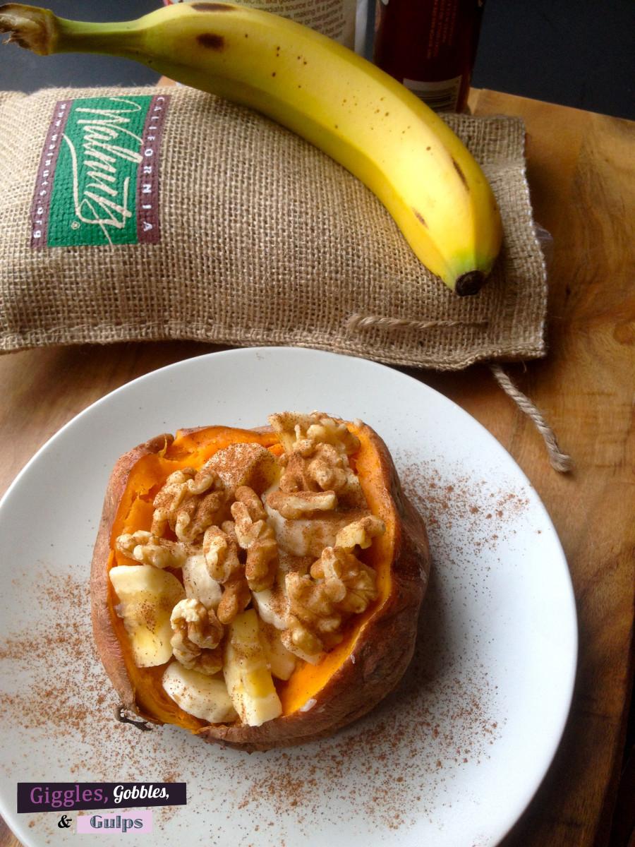 Loaded Sweet Potato Banana Walnut Breakfast Recipe1