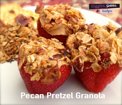 Granola with Pretzels and Pecans
