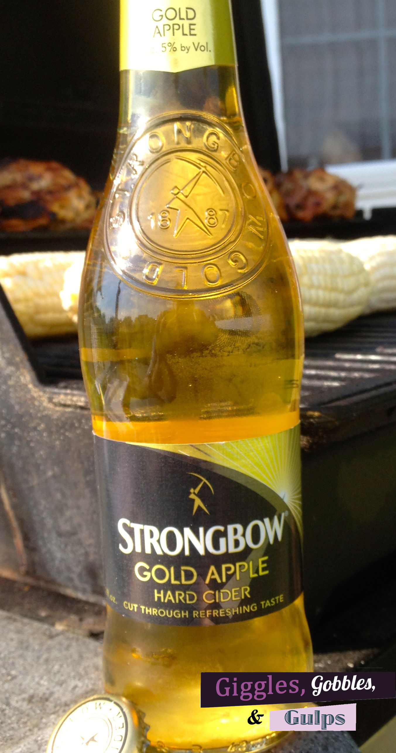 beer review strongbow gold apple hard cider. Black Bedroom Furniture Sets. Home Design Ideas