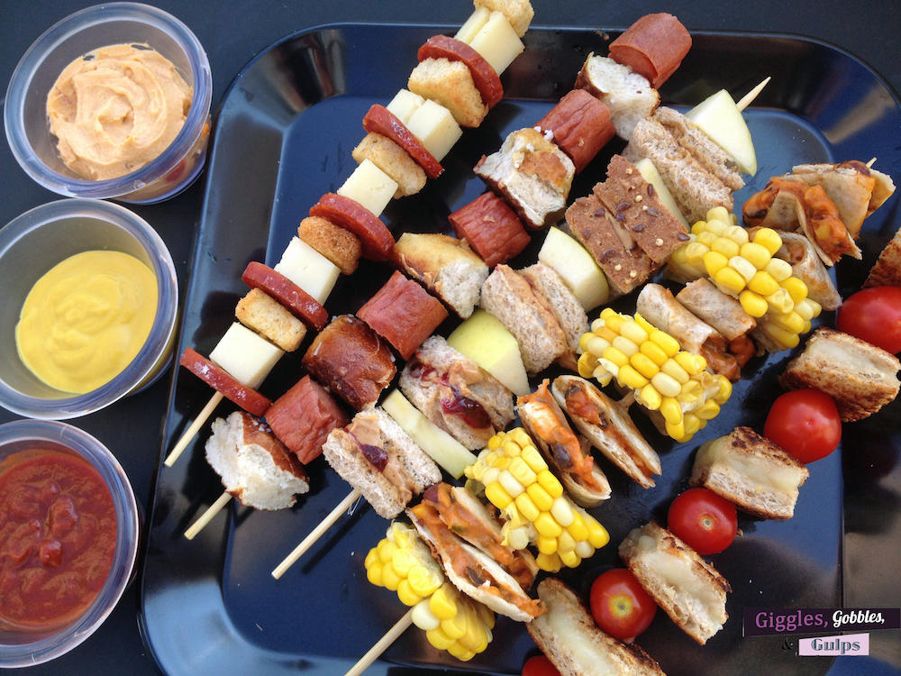 simple kid-friendly lunch on a stick