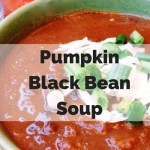 Hearty Pumpkin Black Bean Soup